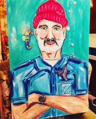 SOLD Bill Murray - Life Aquatic